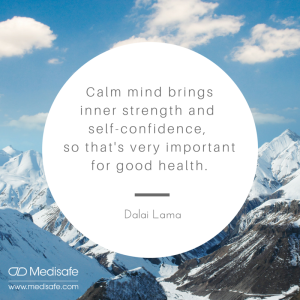 Calm mind brings inner strength and (2)