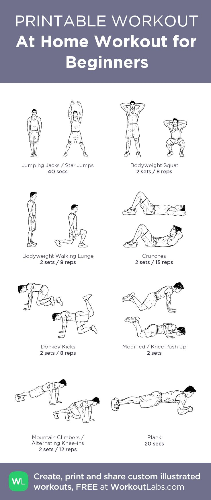 men workout